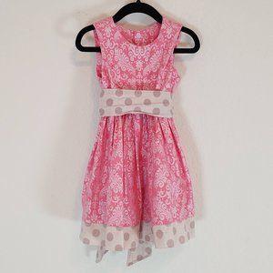 Lovin Ewe Boutique 2T Dress Pink Sleeveless Easter